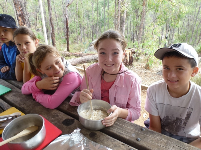 Camp Cooking for Kids